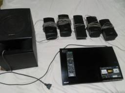 Home Theater Sony BDV-E290 5.1 com Blu-Ray Player 3D 850 W
