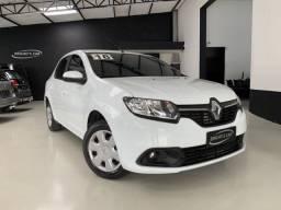 Título do anúncio: Renault Logan 1.0 12v Expression 2018