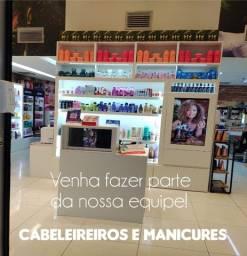 Título do anúncio: Vagas para manicures e cabeleireiros