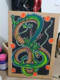 Quadro Decorativo Shen Long