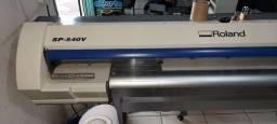 Plotter Roland SP-540v - Impressão e recorte