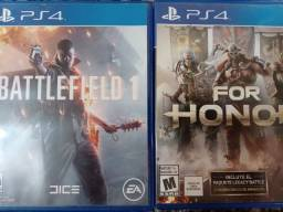 Battlefield 1 e For honor (PS4)