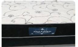 Vendo cama box de casal semi nova