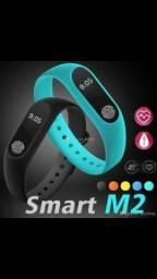 Relógio Digital Smart Band M2 Bracelete Resistente Água (entrega com Taxa)
