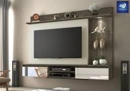 """Painel Home para TV até 60"""" com LED #FreteGRÁTIS* #Garantia #Lacrado"""