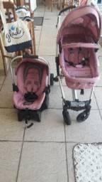 Carrinho Eclipse + Bebê Conforto