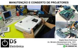 Conserto de projetores de qualquer marca e modelo