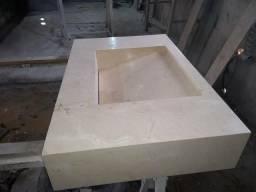 Lavatório crema marfil