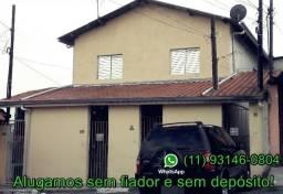 Casa de 4 côm, indepe, sem fiador e deposito perto da estação Trem São Miguel Paulista