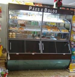 NOVO - Vasca expositor Refrimate de pão cores variadas