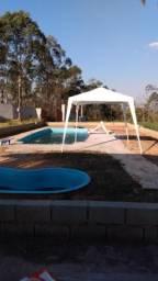 Alugo chácara mensal para moradia com 2 piscinas