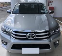 Toyota Hilux Srx 17/18 prata 2.8 diesel automática - 2018