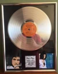Roberto carlos - disco de platina
