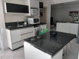 Apartamento com 3 dormitórios mobiliado à venda, 119 m² por r$ 780.000 - centro - balneári