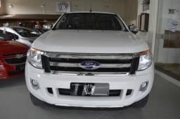 Ford Ranger XLT 2.5 16V 4x2 CD Flex - Branco - 2015 - 2015