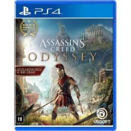 Assassins Creed Odyssey para ps4 - mídia física