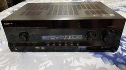 Receiver Sony 7.2 Canais Mod. STR-DH820 top de linha em ótimo estado Ac. cartão