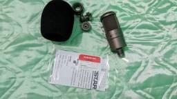 Microfone Takstar SM-8B importado (ideal para Podcasts e Home Studio)