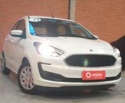 Ent + 899,00 Ford Ka SE Tivct 1.0 impecável!!! apenas 33.00 mil quilômetros!!!