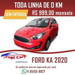 Ford Ka Se Plus 0 km 2020 - Sem entrada - 2020 - Uber - 99 -
