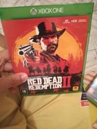 Jogos Xbox one,red dead redemption 2: 100$, e batlefield 5 :90$, os dois faço por 170