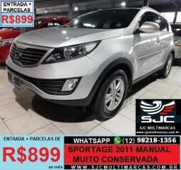 Kia Sportage 2011 Manual Parcelas de 899 reais ao mês - 2011