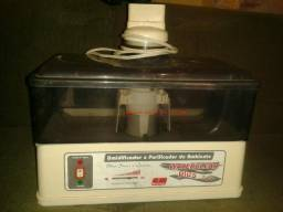 Umidificador e purificador de ambiente bom esta funciona normalmente 40,00