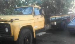 Ford f600 vendo ou troco por outro caminhão