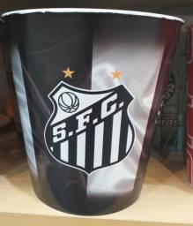 Balde para pipoca dos clubes paulistas