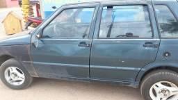 Vendo Uno 99/2000, vidro elétrico,04 portas,cor verde, - 2000