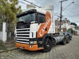 Scania r124 ga4x2nz 360 abaixo da fipe - 2000