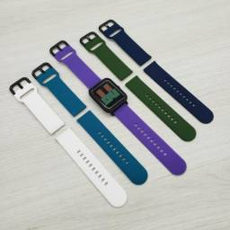 Pulseiras variadas para Amazfit Bip, Gts e Samsung Galaxy Watch Active)