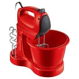 Batedeira Philips Walita ri7200 400w Função Mixer e Tigela de 3,5L Vermelha