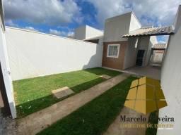 casa plana no Novo Maranguape I com 3 quartos e documentação inclusa