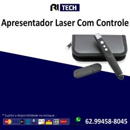 Apresentador Multimídia Slide Caneta Laser Sem Fio Preto