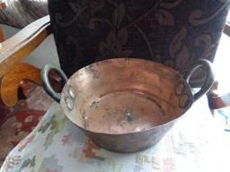 Panela antiga de cobre