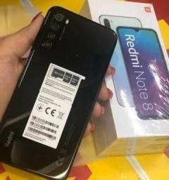 Redmi Note 8 Preto 64Gb/12x126,00/Frete Grátis
