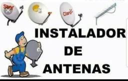 Instalador de antenas apontamento