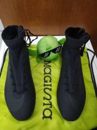 Chuteira Nike Mercurial+Bolsa Magista (NOVAS)