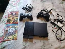 Vendo PS2 Slim Completo
