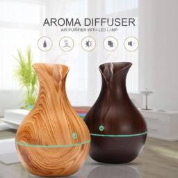 Difusor e Umidificador Aroma terapia Elétrico Para Óleos Essenciais