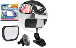 Espelho Retrovisor Auxiliar Automotivo Bebê A Bordo