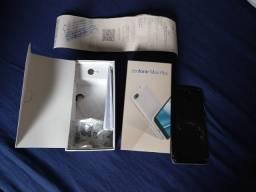 Asus Zenfone Max Plus com tela quebrada com nota fiscal cor rosa