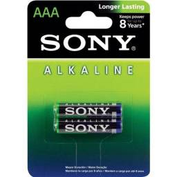 Título do anúncio: Pilha Sony AAA Palito Alcalina C/ 2 Unidades
