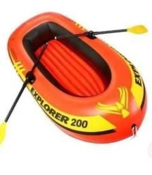 Vendo bote inflavel novo nunca usado .