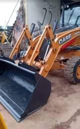 Retro Escavadeira Case 580n 2013 4x4 *perfeita*