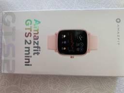 Relogio smartwatch amazfit GTS 2 mini rose