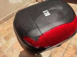 Baú de Moto com suporte de ferro  - Bauleto TORK Smart Box 45 LTS - 2 Capacetes