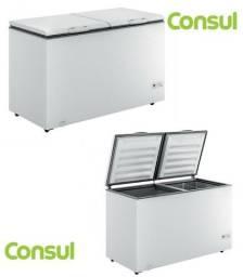 freezer horizontal consul chb53eb 2 portas branco novo