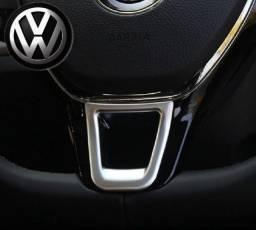 Aplique moldura p/ volante Volkswagen golG7,VIRTUS,Polo,GOLFmk7,Amarok,Jetta,T-cross